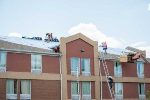 commercial work roofing bowie roof |