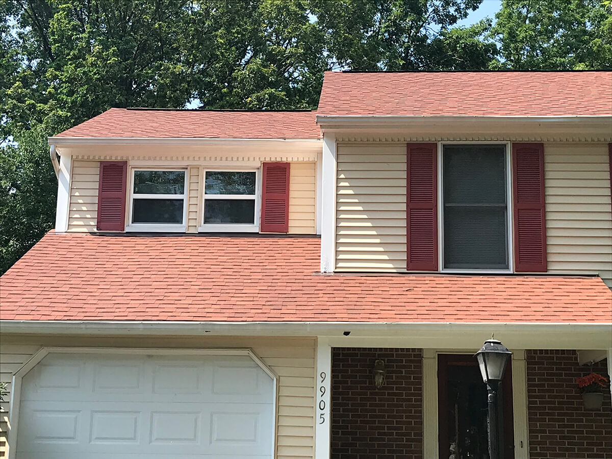 roofing bowie roof | red