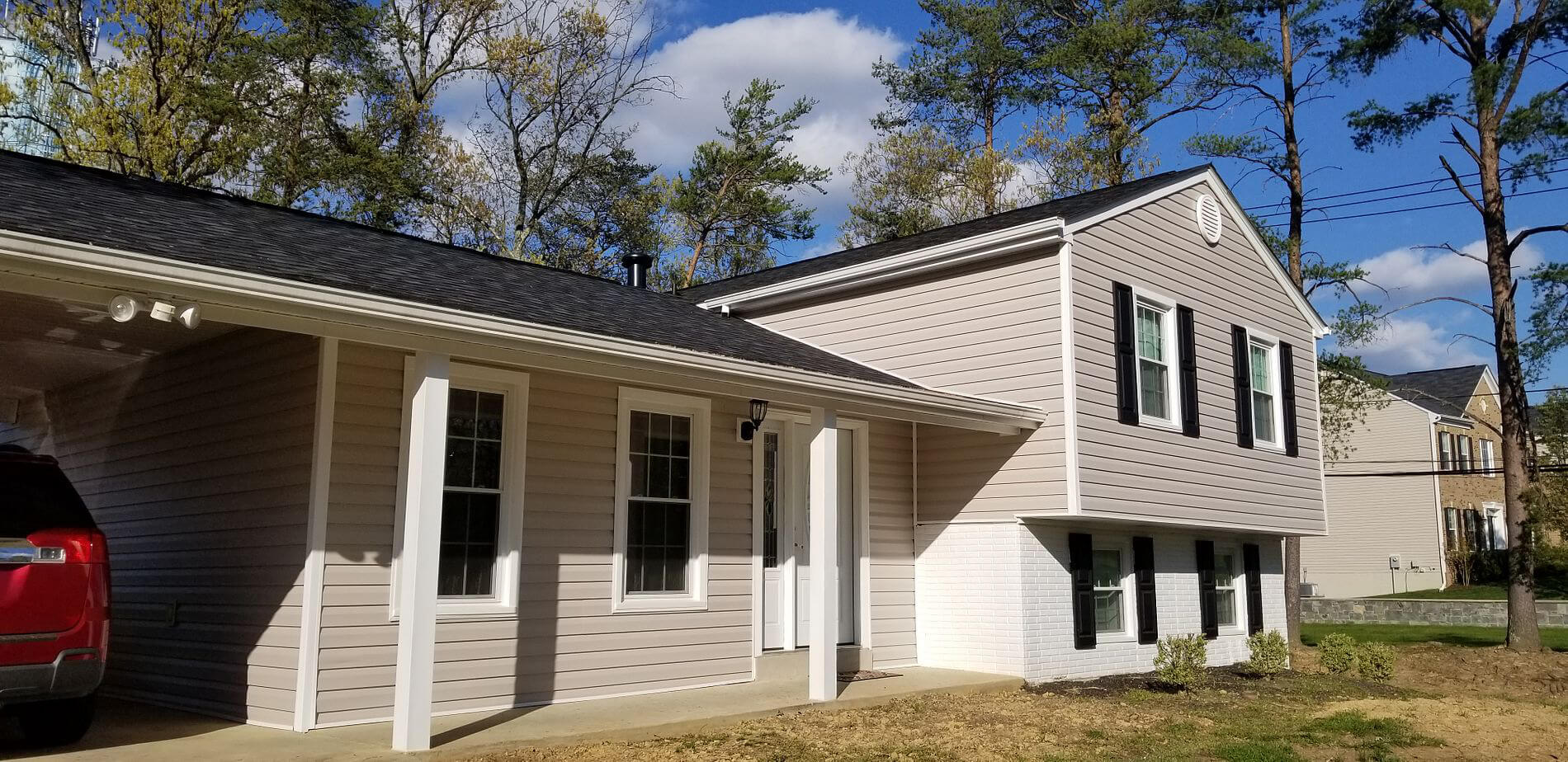 roofing bowie roof | siding grey