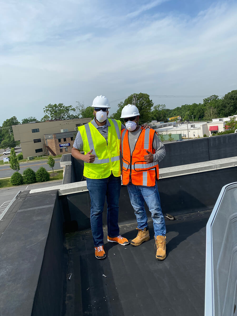 roofing bowie roof |commercial safety