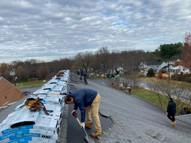 roofing bowie roof | St. Pius X new roof