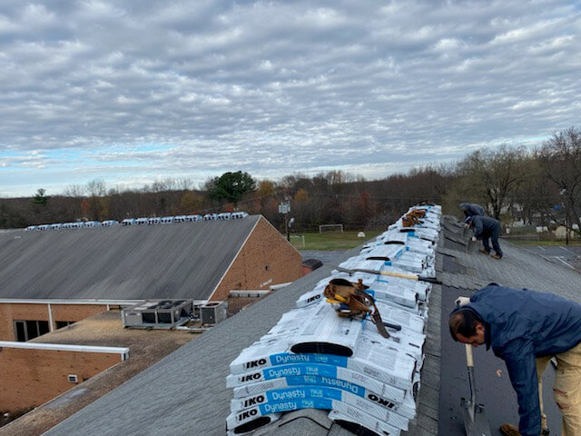 roofing bowie roof | St. Pius X
